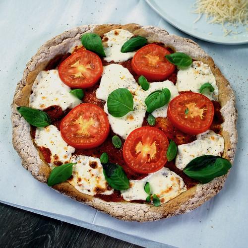 Artisan Pizza Dough Margherita ~ @PamelasProducts #MySillyLittleGang