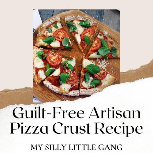 Guilt-Free Artisan Pizza Crust Recipe ~ @PamelasProducts #MySillyLittleGang
