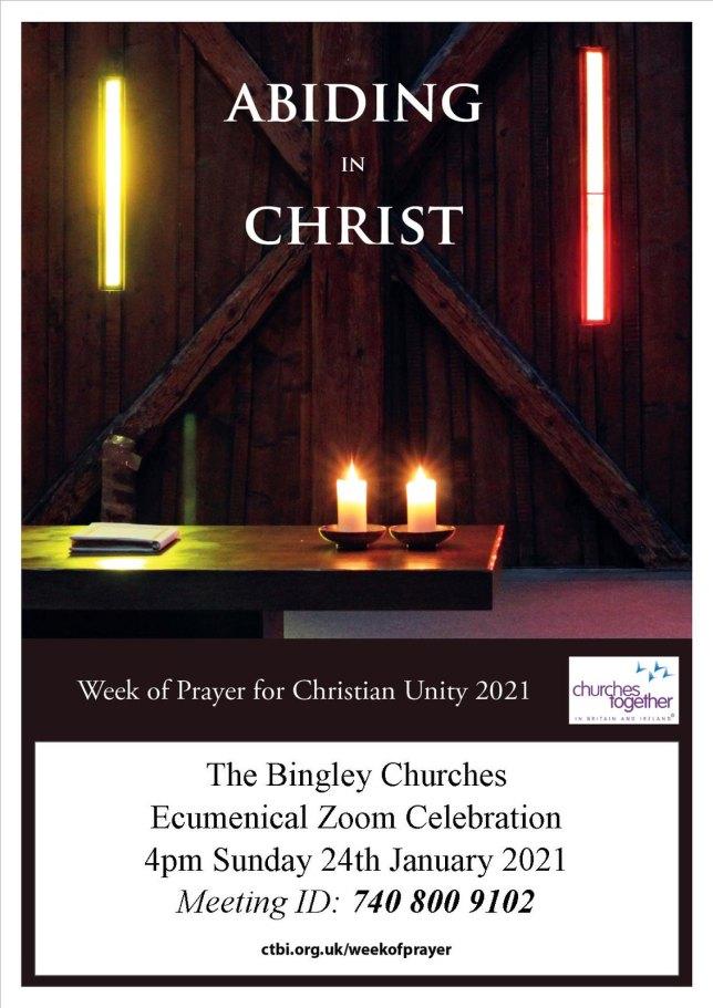 Unity week poster