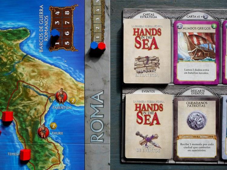 HANDS IN THE SEA MERCADO DE CARTAS