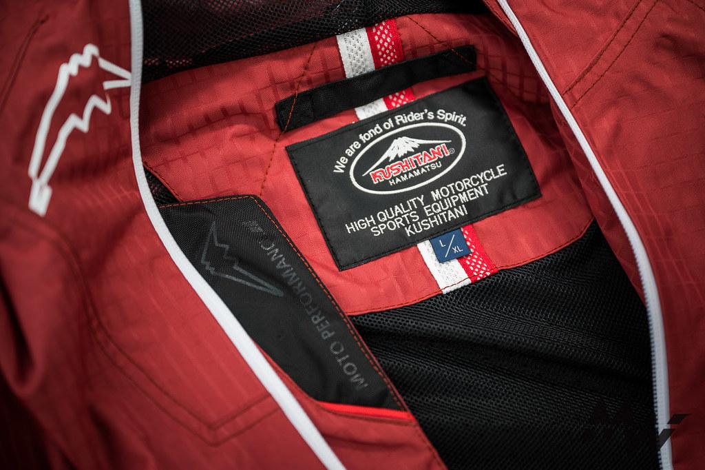 Kushitani A2348 WP Jacket_-48