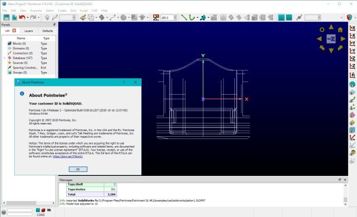 Working with PointWise 18.4 R2 full