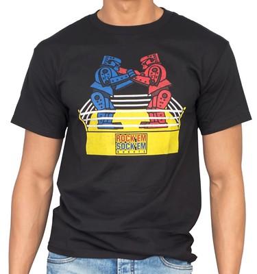 Rock 'Em Sock 'Em Robots Sheldon T-Shirt #MySillyLittleGang