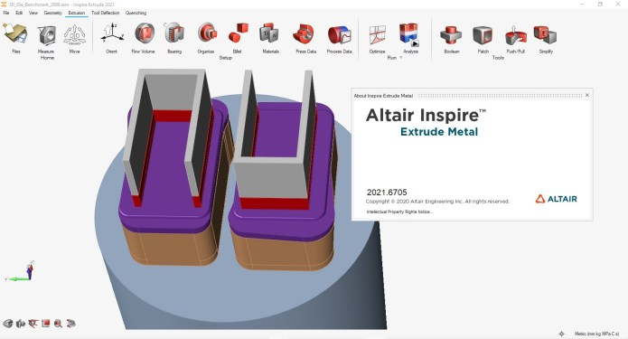 Working with Altair Inspire Extrude 2021.0 Build 6705 full