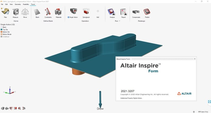 Working with Altair Inspire Form 2021.0 full