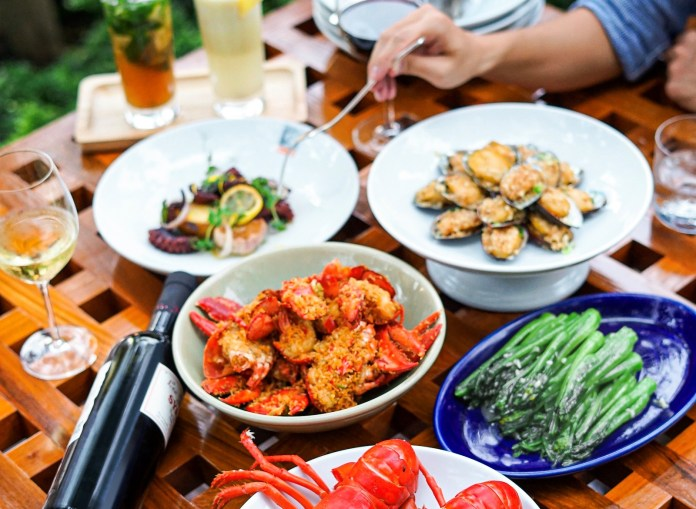 mezza9 Macau與廚共饗晚餐佳餚Dining-from-the-kitchen delicacies at mezza9 Macau