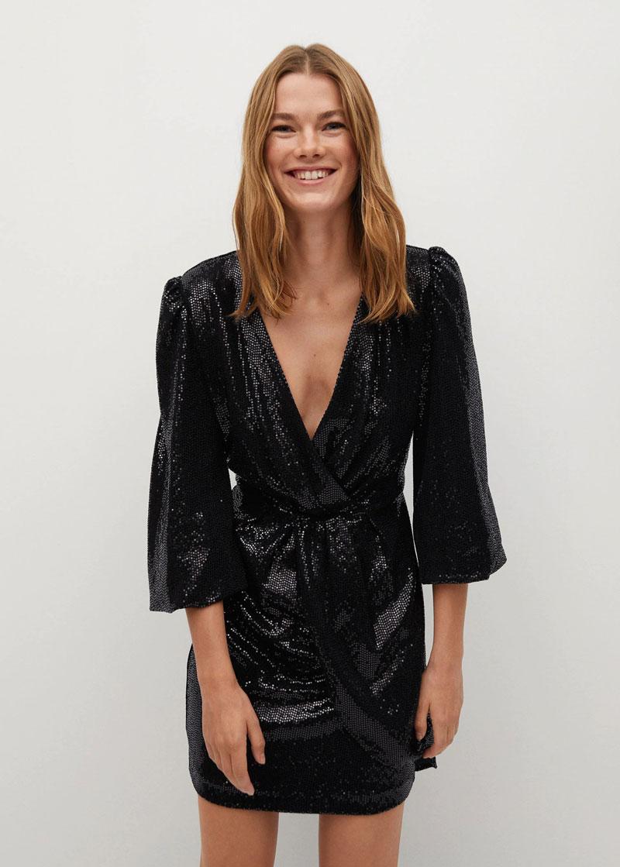 10_mango-sale-black-sequin-wrap-dress