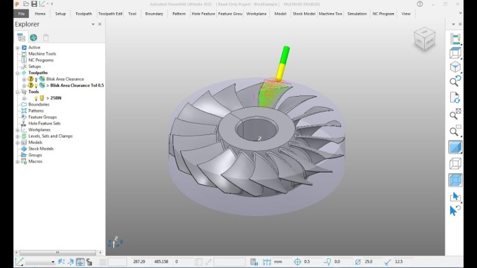Working with Autodesk PowerMill Ultimate 2021.1.1 x64 full