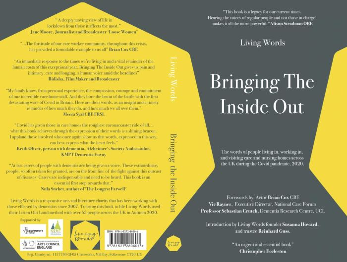 Bringing The Inside Out 2020 - Words and poems of people experiencing dementia