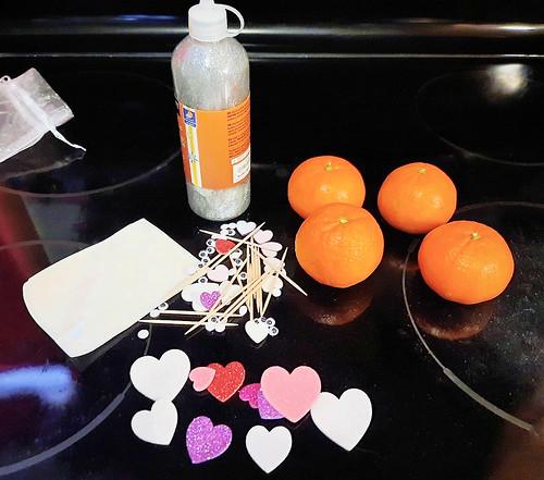 materials @HalosFun #ValentinesDay #Craft #MySillyLittleGang