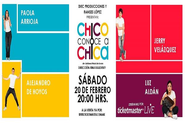 2021.02.20 Chico conoce a Chica en Streaming