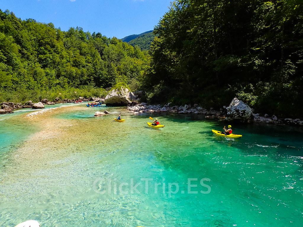 Alpi Center | Rafting en Eslovenia por el río Soča