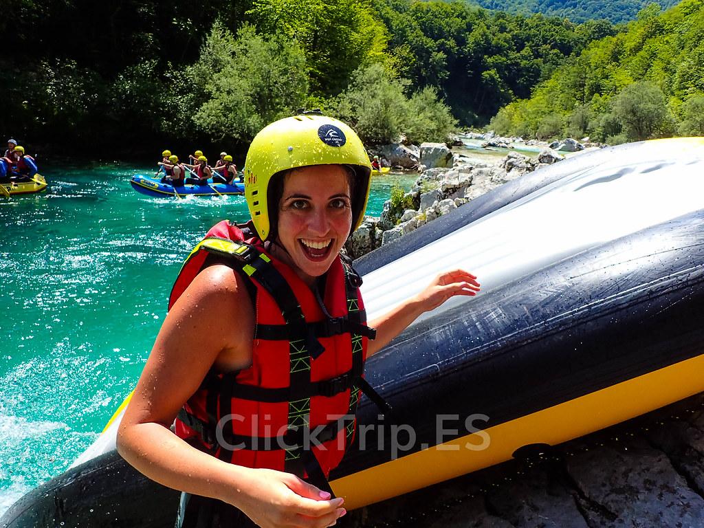 Alpi Center | Rafting en Eslovenia · Deportes de aventura · Actividades al aire libre | Actividades por el río Soca | Turismo de Eslovenia | ClickTrip