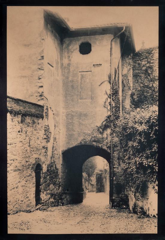 Gate in Biella, Italy