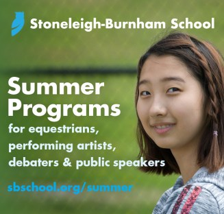 Summer Programs at Stoneleigh-Burnham School