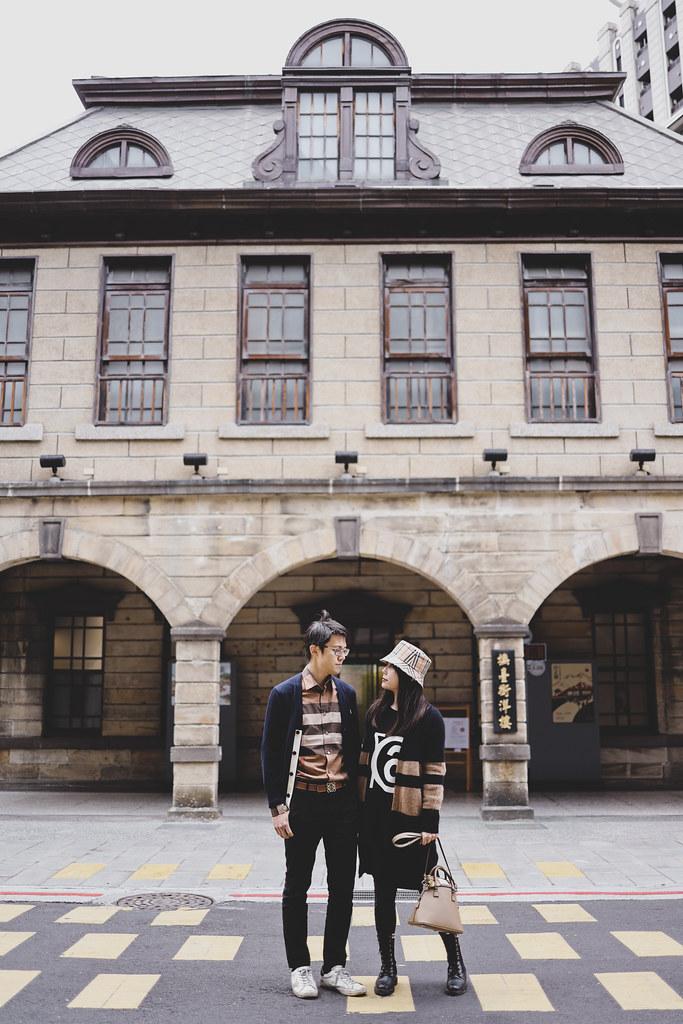 撫臺街洋樓打卡與爌肉飯 + M大的Burberry襯衫以及假裝要買給他的Burberry漁夫帽