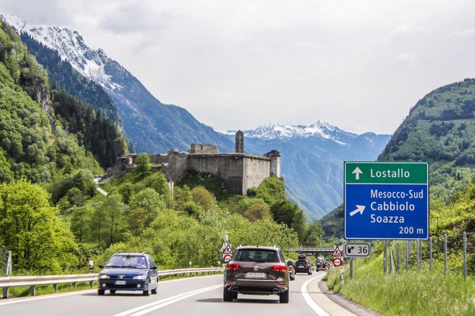 Roadtrip from Switzerland to Italy