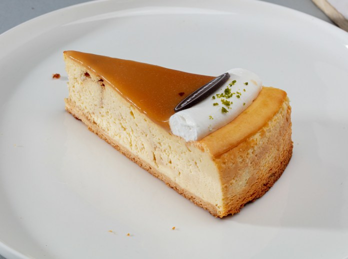 Starbucks Salted Caramel Cloud Cheesecake