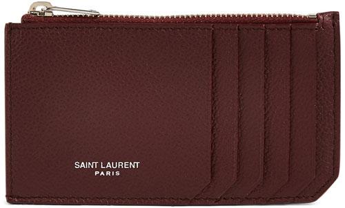 holt-renfrew-saint-laurent-leather-zip-card-holder-wallet
