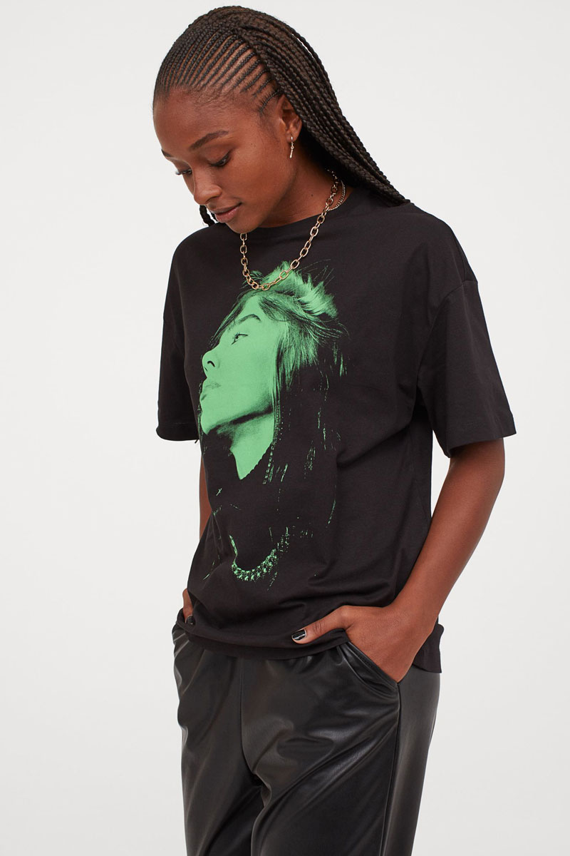 1_hm-black-green-oversized-billie-eilish-graphic-t-shirt