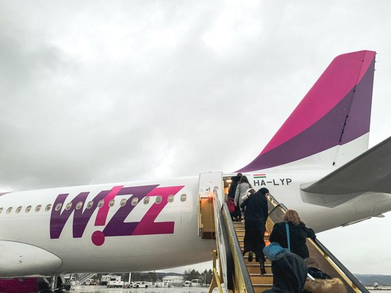 WIZZ Air Airbus Old Livery Travelblog JoyDellaVita