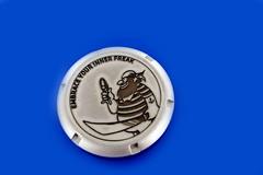 dekiel zegarka z grawerem logo