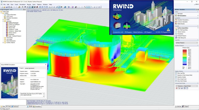 Working with Dlubal RWIND Simulation Pro v1.24.0250 full