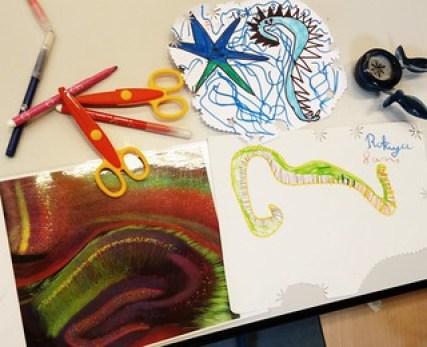 Hippocampe du cerveau dessiné par les enfants (1)