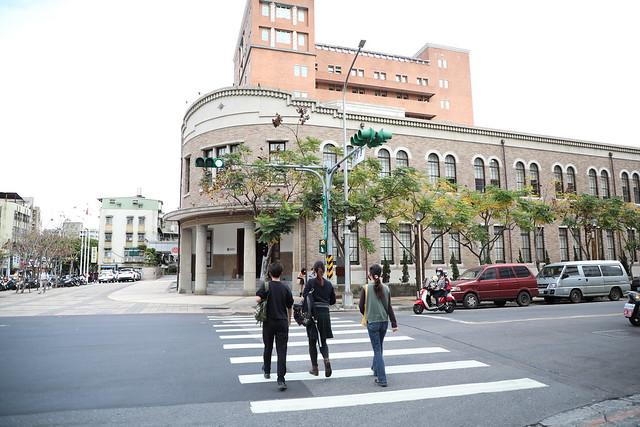 台北「臺灣新文化運動紀念館」:日治時期的臺北北警察署