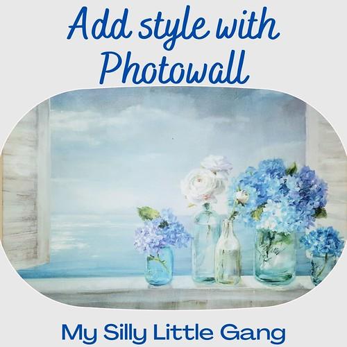 Add Style with Photowall #Photowall #MySillyLittleGang