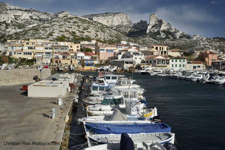 le charmant petit port des Goudes, Marseille