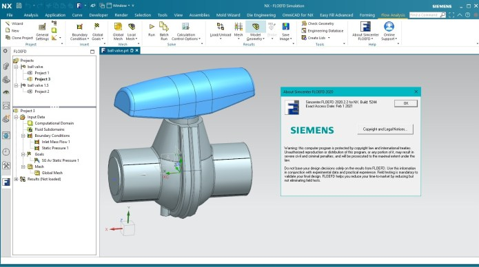 Working with Siemens Simcenter FloEFD 2020.2.2 v5244 for Siemens NX full