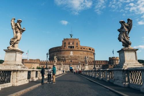 Ponte Sant'Angelo, Rome, Italy