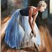 Pintura Aire de Ballet Juan Alberto Diaz exposicion ambito cultural Corte Ingles Las Palmas De Gran Canaria_2