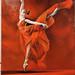 Pintura Aire de Ballet Juan Alberto Diaz exposicion ambito cultural Corte Ingles Las Palmas De Gran Canaria
