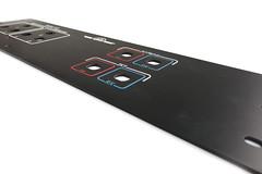 panel czołowy z aluminium