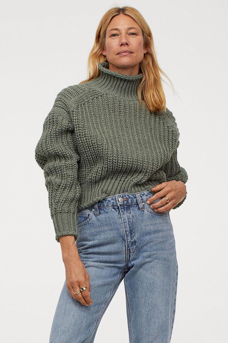 20_hm-khaki-green-ribbed-turtleneck-sweater