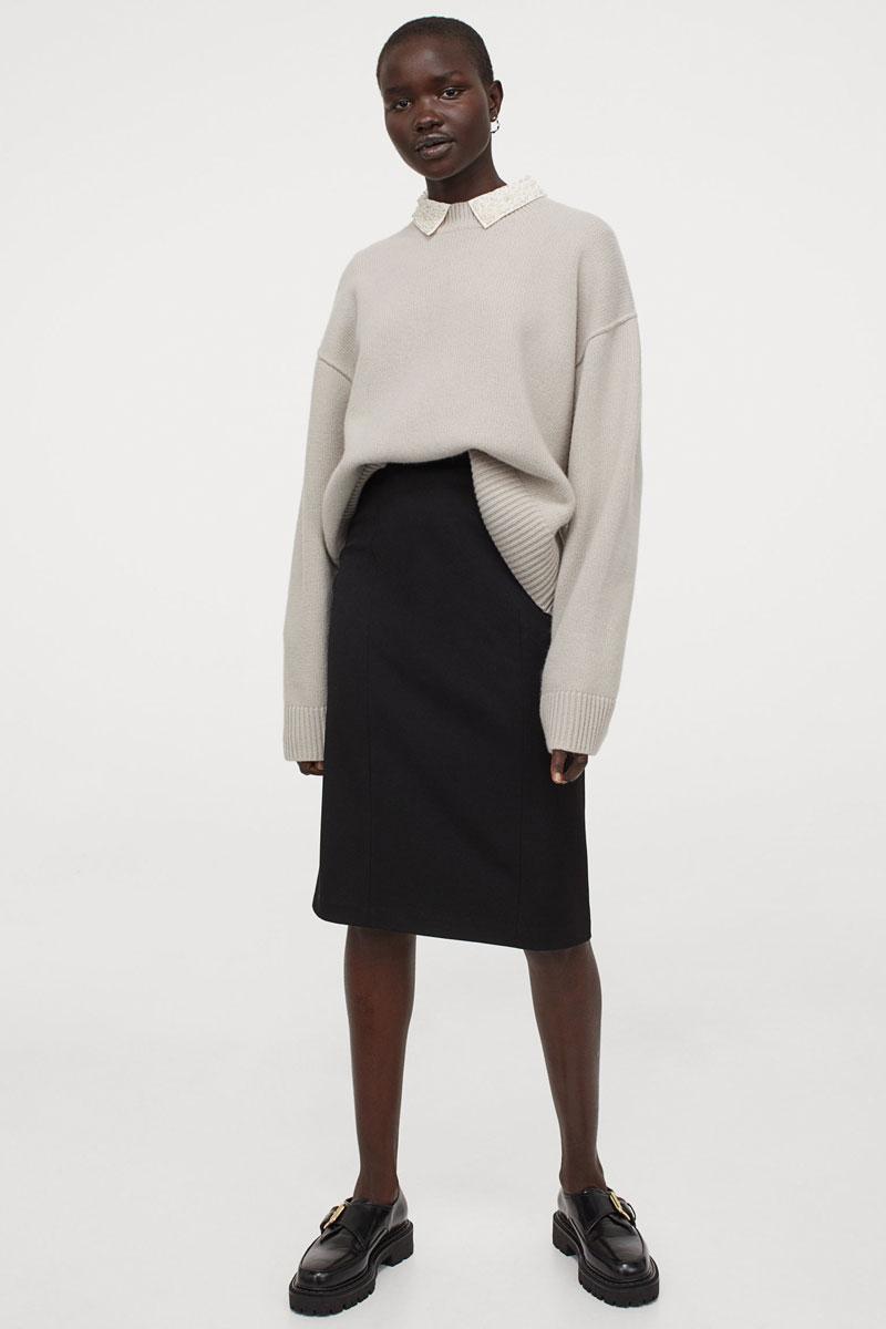 9_hm-black-knee-length-pencil-skirt