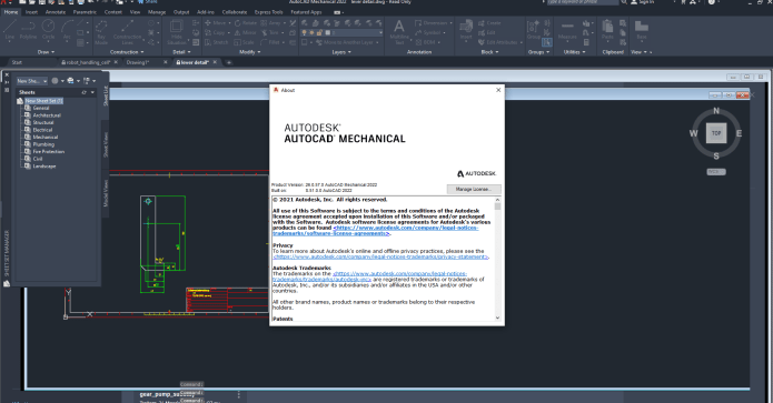 Working with Autodesk AutoCAD Mechanical 2022 full