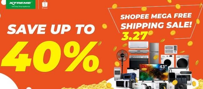XTREME Appliances x Shopee Mega Free Shipping Sale