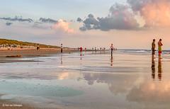 Sunset at the Beach / Atardecer en la Playa