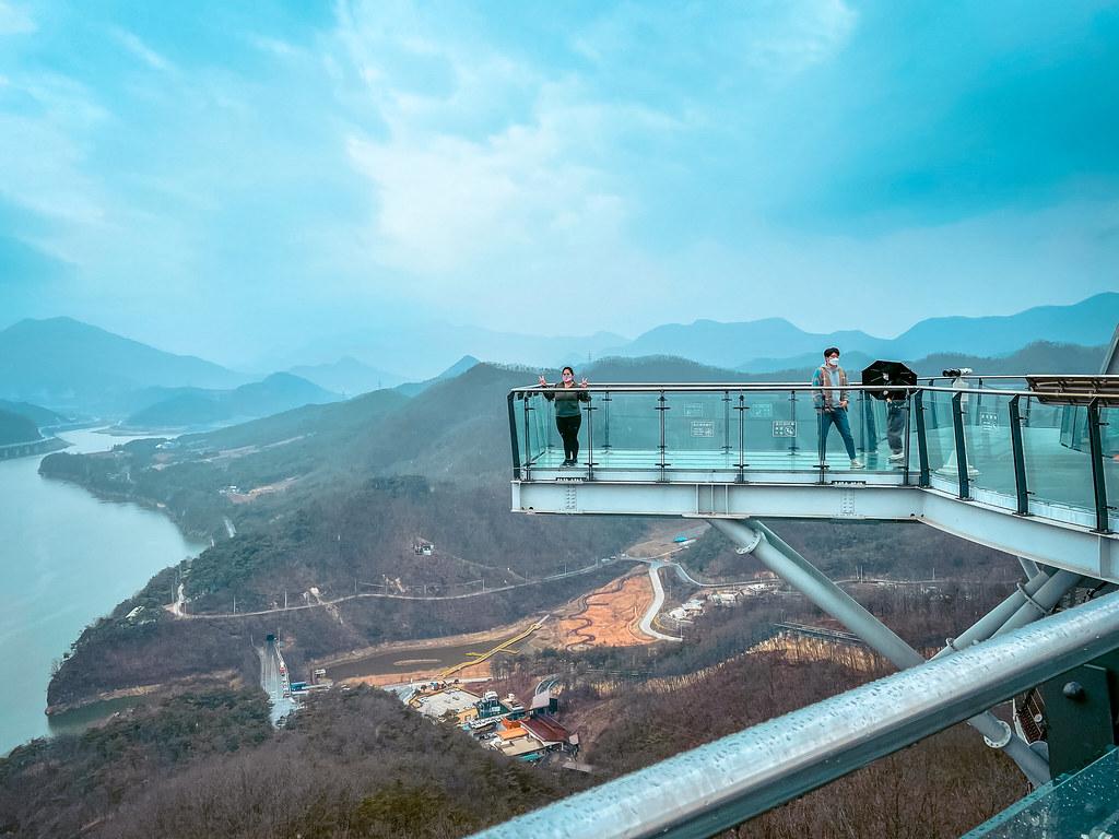 Macheonha Skywalk | Things to do in Danyang Korea