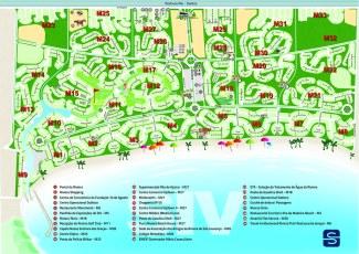 mapa riviera com ruas web