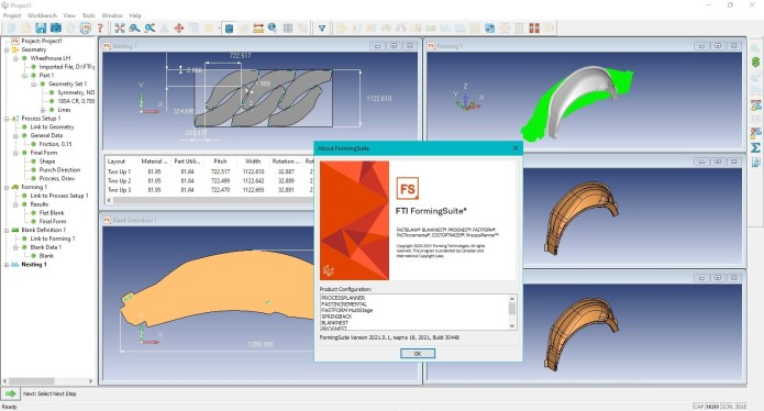 Working with FTI Forming Suite 2021.0.1 (Build 30488.1) full license
