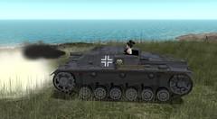 Konkubine in a Beograd Tank