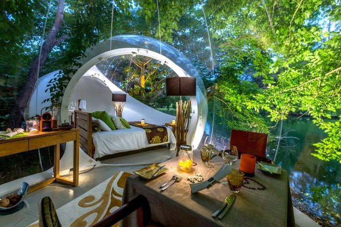 Bubble Lodge Bois Chéri 1