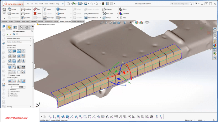 Working with Power Surfacing RE v6.1 for SOLIDWORKS 2017-2021 full