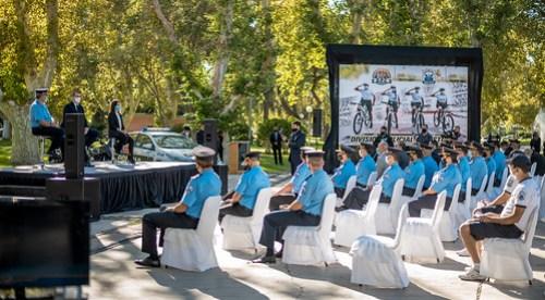 2021-03-23 SEGURIDAD: La Secretaría de Estado de Seguridad presentó la nueva División Policía Ciclística