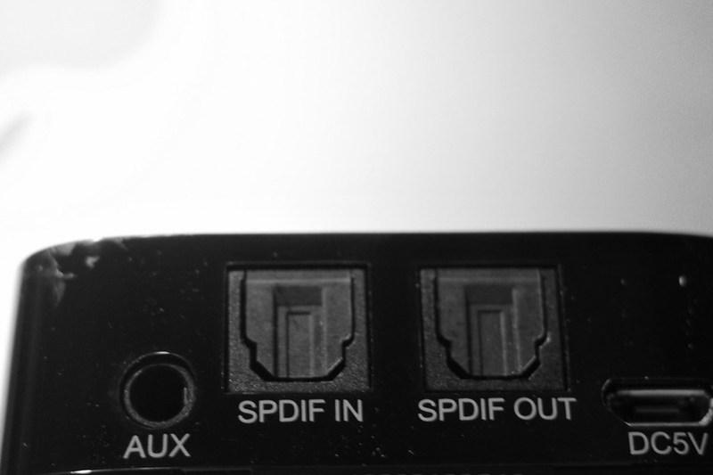 TaoTronics Bluetooth transmitter receiver