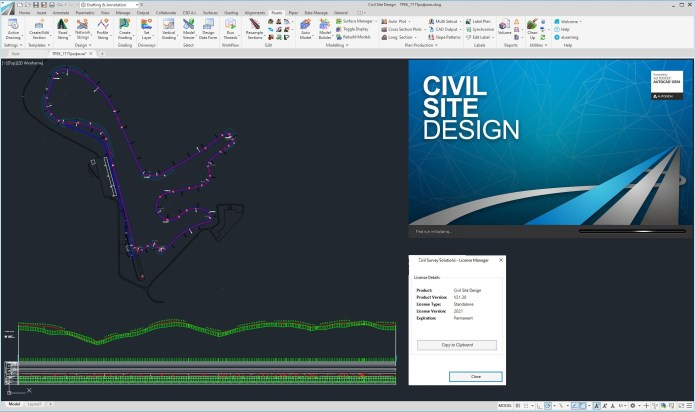 Working with CSS Civil Site Design Plus 21.30 full
